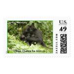 Ugandan Gorillas Postage