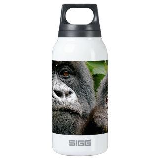 Ugandan Mother & Baby Gorilla Insulated Water Bottle