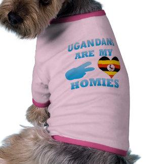 Ugandans are my Homies Dog Tshirt