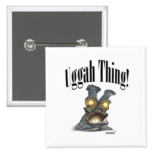 Uggah Thing--GALOOT Mutation #001 Pinback Button
