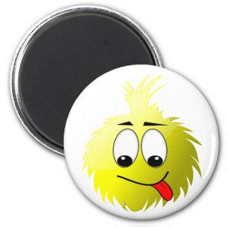 Uggles - Munch White 2 Inch Round Magnet