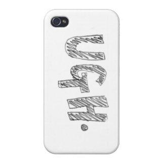 """""""Ugh"""" iPhone Case"""