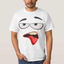 Ugh Whatever Face T-Shirt