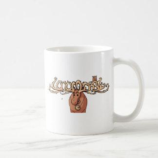 ugler i moosen classic white coffee mug