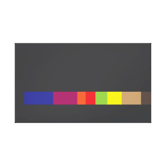 Ugly Abstract Design Canvas