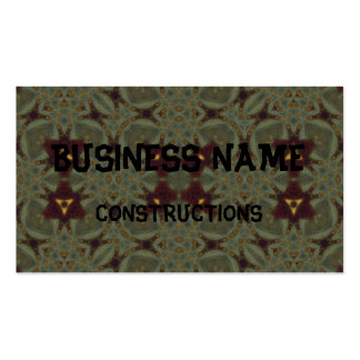 Ugly abstract pattern business card templates