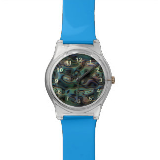 Ugly abstract pattern wrist watches