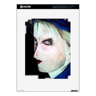 UGLY Angry Woman iPad 3 Decal