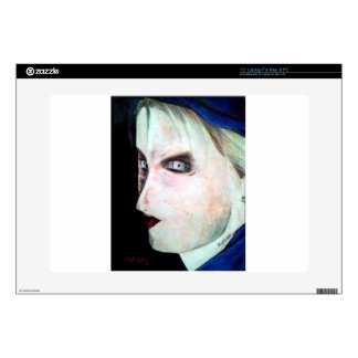 """UGLY Angry Woman Skin For 15"""" Laptop"""