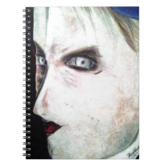 UGLY Angry Woman Spiral Notebook
