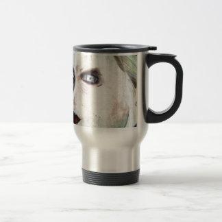 UGLY Angry Woman Travel Mug