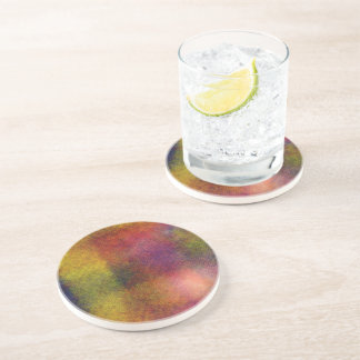Ugly awful pattern drink coaster