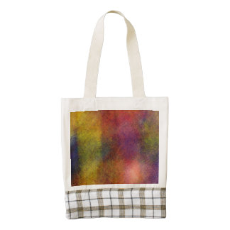 Ugly awful pattern zazzle HEART tote bag