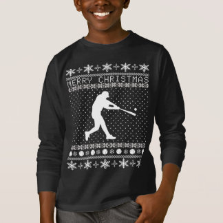 Ugly Baseball Christmas Sweater