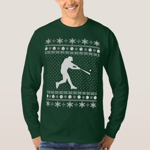 Ugly Baseball Christmas Sweater After Christmas Sales 2679