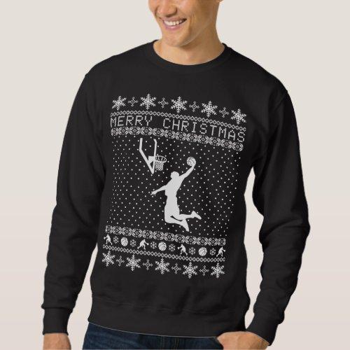 Ugly Basketball Christmas Sweater After Christmas Sales 2683