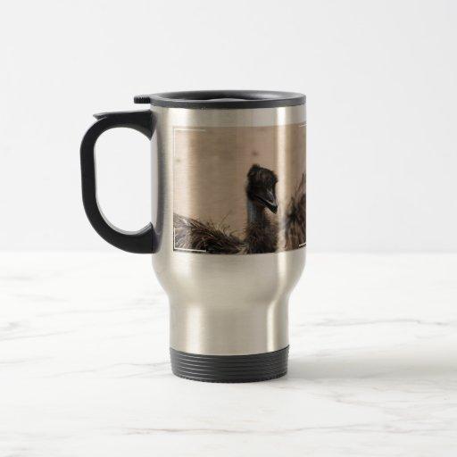 Ugly Bird 15 Oz Stainless Steel Travel Mug