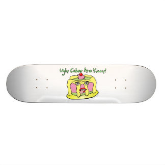 Ugly Cakes Are Yummy Skateboard Deck
