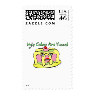 Ugly Cakes Stamp