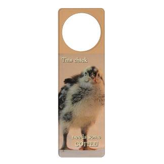Ugly Chick Door Knob Hangers