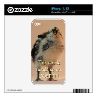 Ugly Chick iPhone 4S Skins
