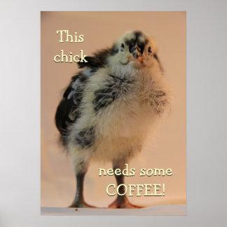 Ugly Chick Print