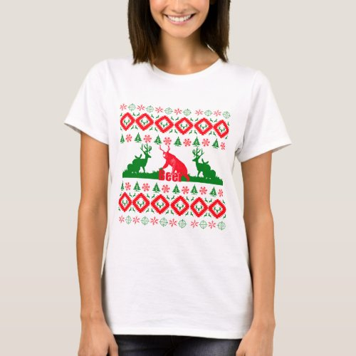 Ugly Christmas beer T-Shirt After Christmas Sales 5361