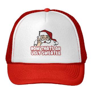 Ugly Christmas Swear Santa Claus Trucker Hat