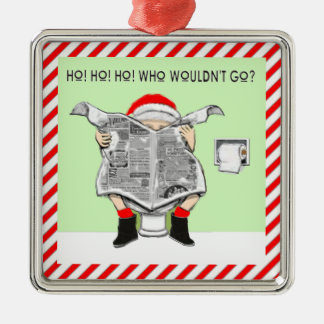 Ugly Christmas Sweater Awards Metal Ornament