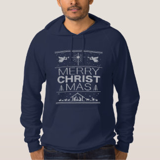 Ugly Christmas Sweater Christ Christian Religious