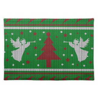 Ugly Christmas Sweater Placemats | Zazzle