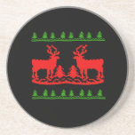 Ugly Christmas Sweater Coasters