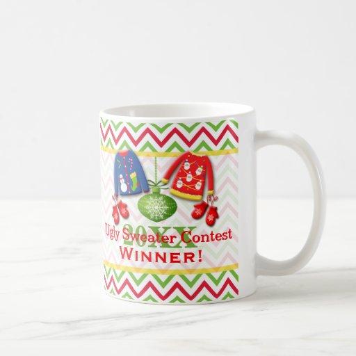 Ugly Christmas Sweater Contest Winner Mug 2