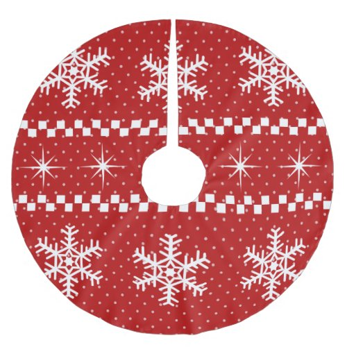 Ugly Christmas Sweater Design Custom Tree Skirt