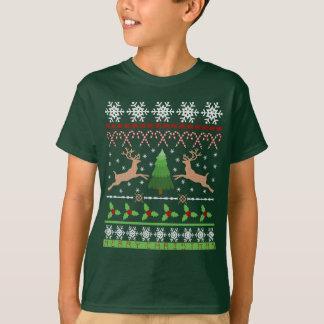 Ugly Christmas Sweater Funny Holiday Reindeer Kids