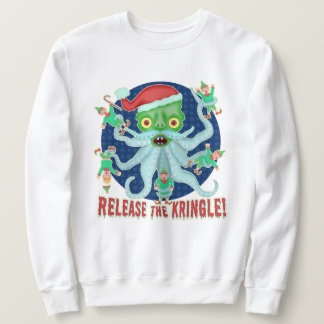 Ugly Christmas Sweater Funny Release the Kringle