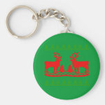 Ugly Christmas Sweater Keychains