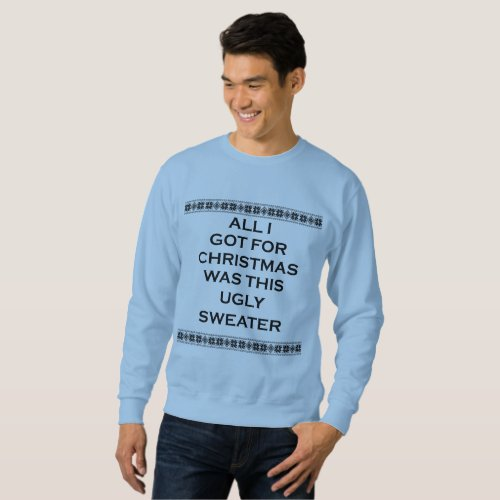 ugly christmas sweater mens sweatshirt After Christmas Sales 2922