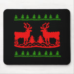 Ugly Christmas Sweater Mousepads