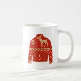 Ugly Christmas Sweater Mug - Reindeer