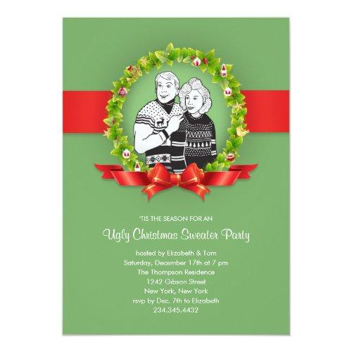Top 50 Funny Christmas Party Invitations 2015 – Tacky Christmas Sweater Party Invitations