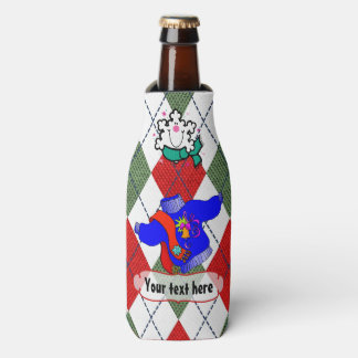Ugly Christmas Sweater Party Personalized Bottle Cooler