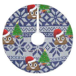 Ugly Sweater Christmas Tree Skirts   Zazzle