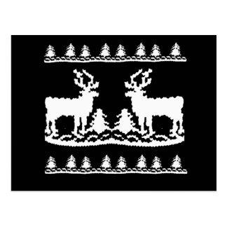 Ugly Christmas Sweater Postcard