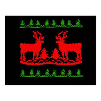 Ugly Christmas Sweater Postcards