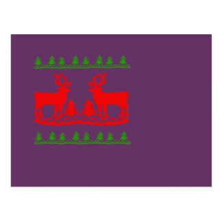 Ugly Christmas Sweater Post Card
