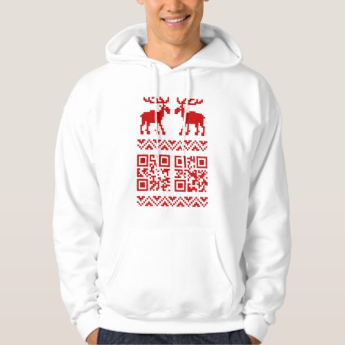 Ugly Christmas Sweater QR Code Happy New Year ! After Christmas Sales 2972