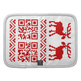 Ugly Christmas Sweater QR Code Happy New Year ! Planner