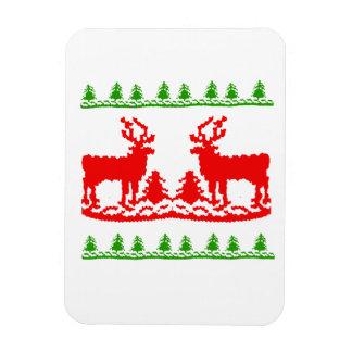 Ugly Christmas Sweater Rectangular Photo Magnet