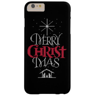 Ugly Christmas Sweater Religious Christian Christ Barely There iPhone 6 Plus Case